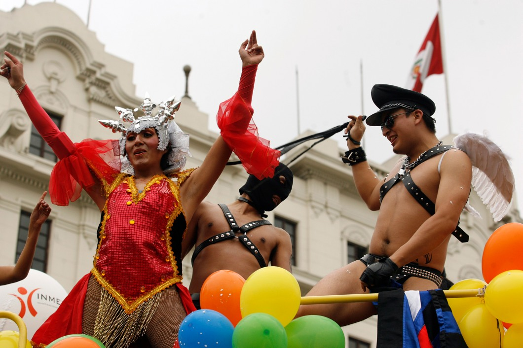 PERU-GAY PRIDE-PARADE