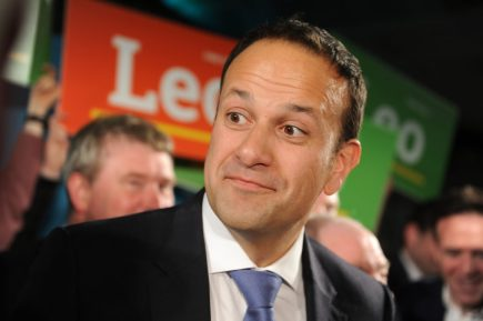Leadership campaign for the Fine Gael Party in Dublin