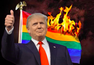 Trump-burning-rainbow-flag-500x349